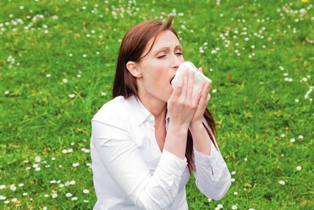 In der Allergiezeit sind auch die Nasenschleimhäute oft irritiert. - Foto: djd/Aspecton/fotolia.de/detailblick