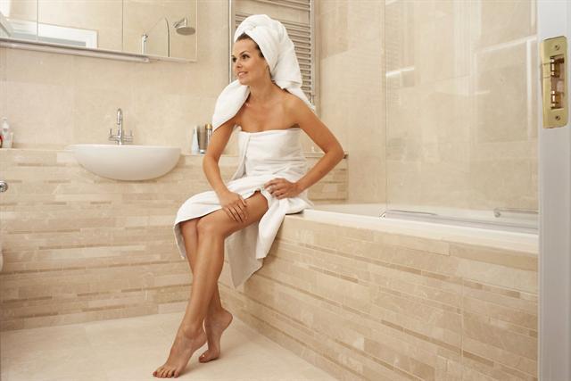 Mit basischen Anwendungen kann sich das heimische Bad rasch in ein
