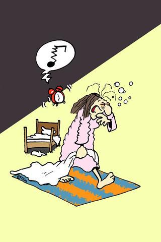 Je müder man ist, umso verzweifelter sucht man den Schlaf und findet ihn doch nicht - ein Teufelskreis, den viele dann nur noch mit Medikamenten durchbrechen können.  Foto: djd/Ergo Direkt Versicherunge - Foto: djd/Ergo Direkt Versicherungen