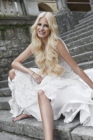Solch eine blonde Mähne ist der Traum vieler Frauen. - Foto: djd/Great Lengths Haarvertriebs GmbH