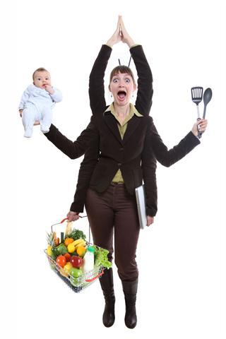 In stressigen Phasen neigen vor allem Frauen dazu, ihre Kräfte zu überschätzen. - Foto: djd/panthermedia.net