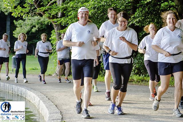Gemeinsam dem Diabetes davonlaufen - das gelingt in der warmen Jahreszeit besonders gut. - Foto: djd/UCB Pharma