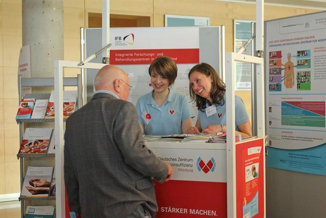 Am HFA-Day können sich die Besucher auf Patientenveranstaltungen über Herzschwäche und Möglichkeiten der Vorbeugung informieren. - Foto: djd/DZHI