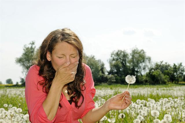 Im Frühjahr und Sommer ist oft Heuschnupfen verantwortlich dafür, dass die Nase läuft oder verstopft ist. - Foto: djd/Otosan - Functional Cosmetics/panthermedia